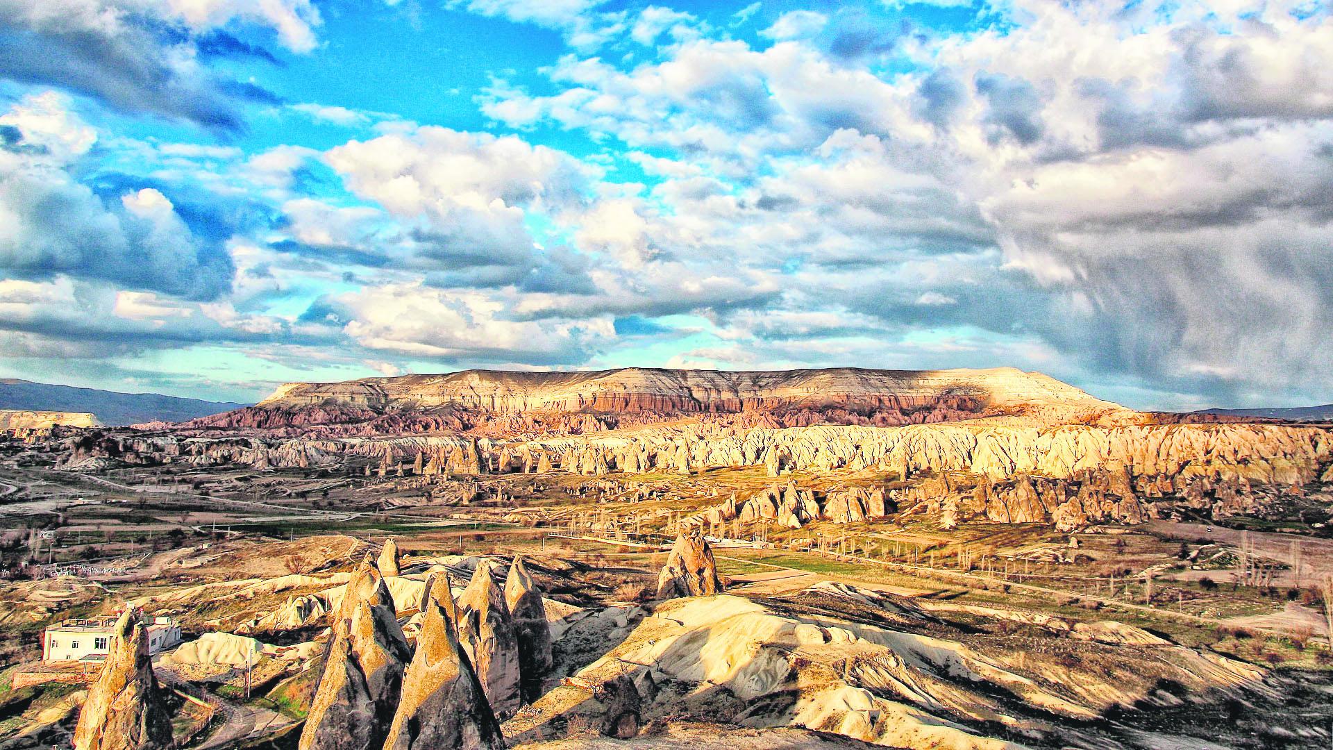 Uchisar Area, Cappadocia, Turkey  № 1427665 без смс