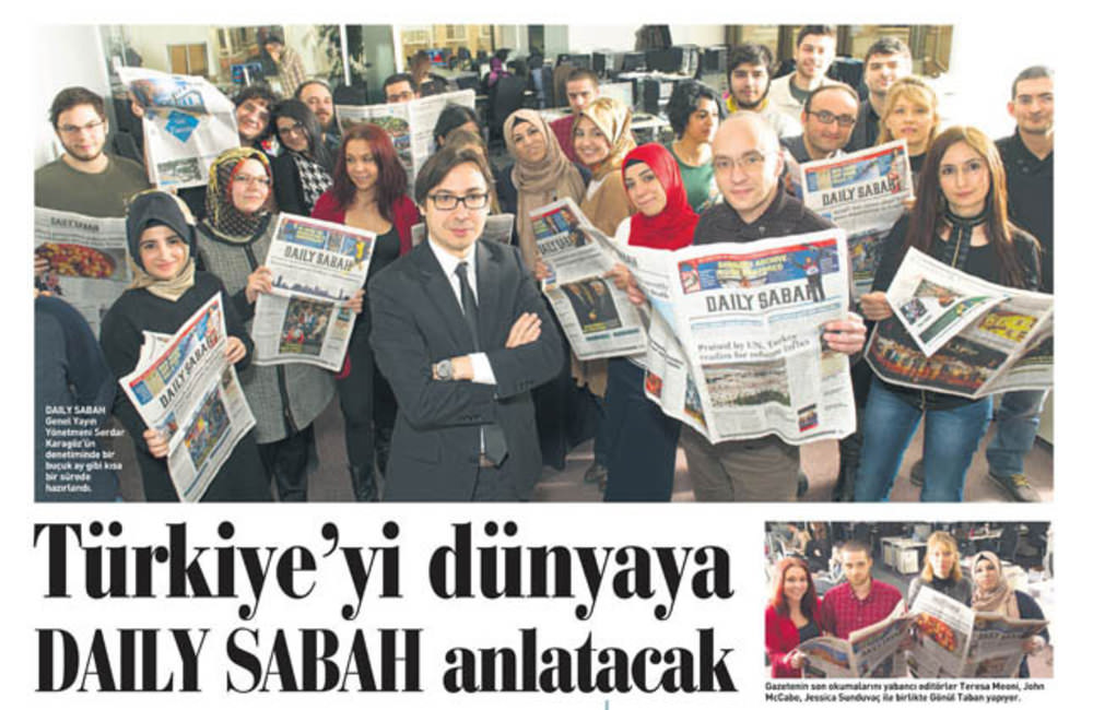 Turkey welcomes Daily Sabah
