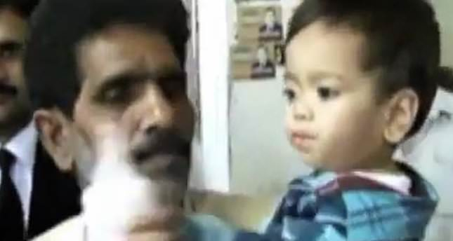 Pakistani baby charged with attempted murder