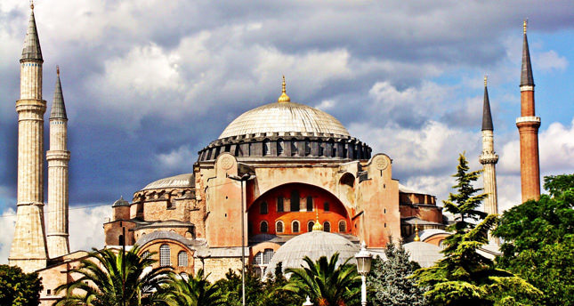 NGO plans prayers in Hagia Sophia