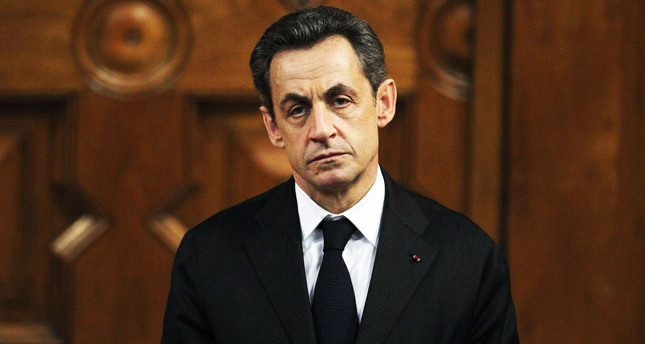 Former French President Sarkozy detained