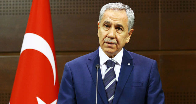 Arınç: Turkey do not support the partitioning of Iraq