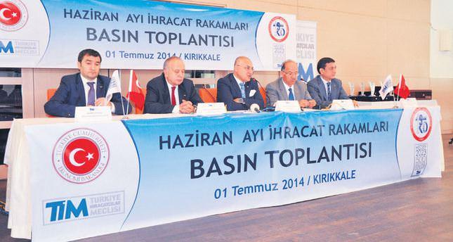 Turkey's exports increase in June despite unrest in Iraq, Syria