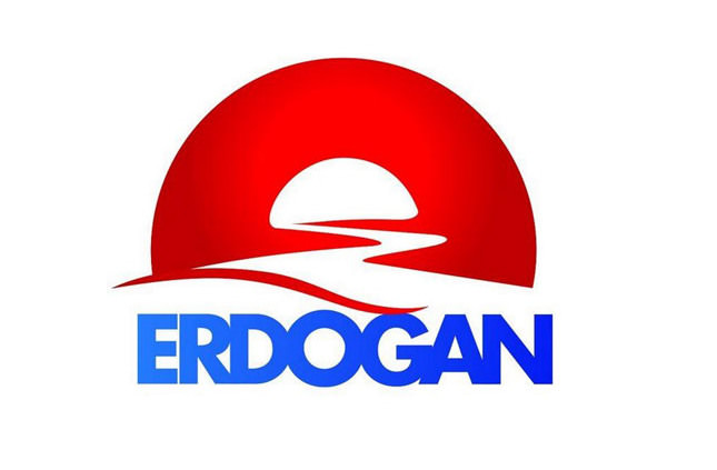 Erdoğan's presidential campaign logo: The light at the end of the tunnel