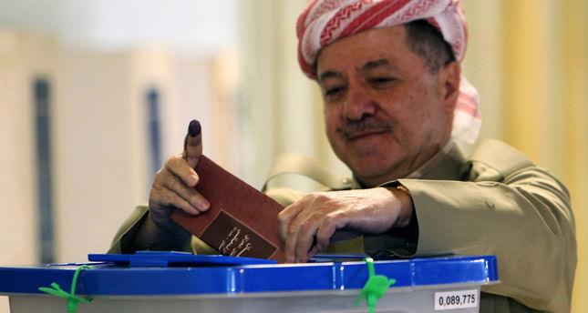 Kurdish leader Barzani asks for steps to organize independence referendum