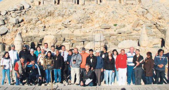 Pagan ritual held on Mount Nemrut