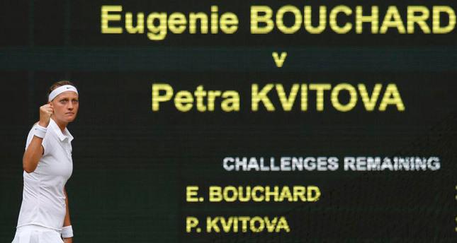 Kvitova crushes Bouchard to win second Wimbledon title