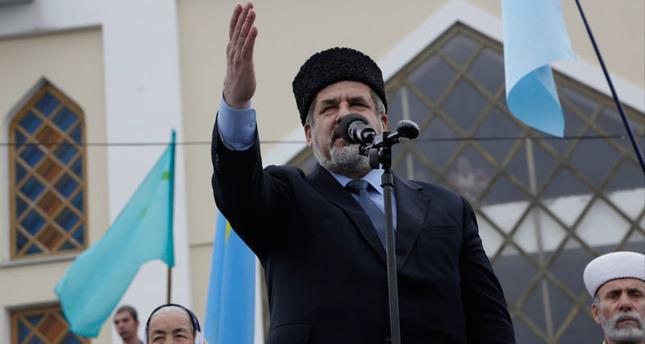 Crimean Tatar leader Chubarov banned entry to Crimea