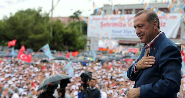 Erdoğan pledges to continue serving people if elected