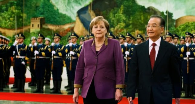 Germany's Merkel heads to China with trade topping agenda