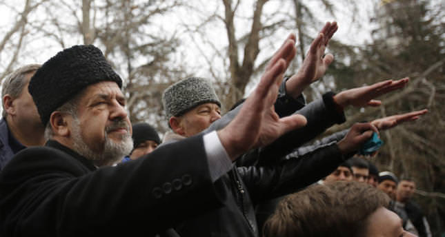 Turkey condemns ban on Crimean Tatar leader