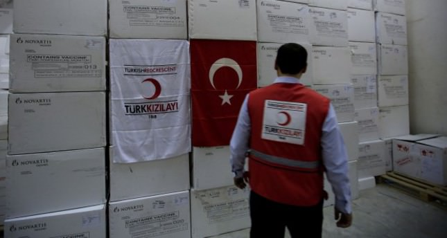 Turkey continues rushing aid to violence-hit Iraq