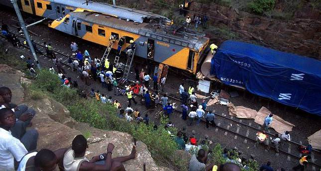 80 injured as two trains collide in South Africa