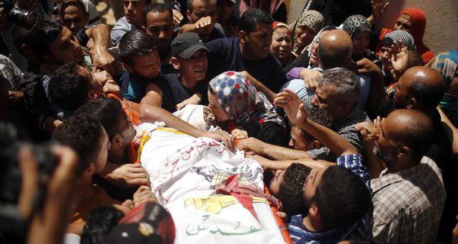 Three more Gazans killed in Israeli airstrikes