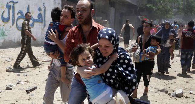 770 Gaza strikes kill 23 children, 12 women