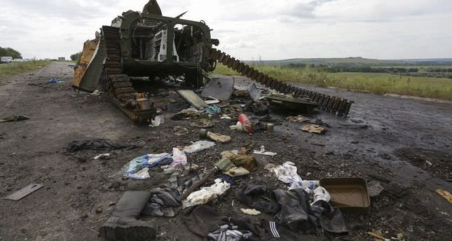 Further east Ukraine clashes kill three soldiers