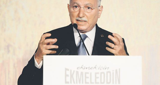 İhsanoğlu announces his election campaign program