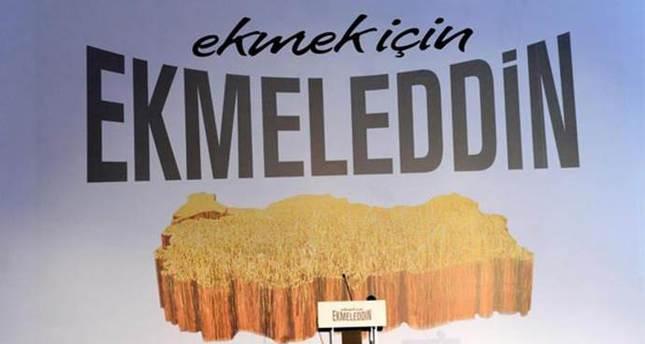 İhsanoğlu's campaign slogan and logo fails to meet expectations