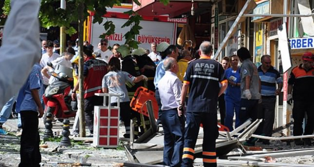 Blast kills two, injures 20 in Denizli