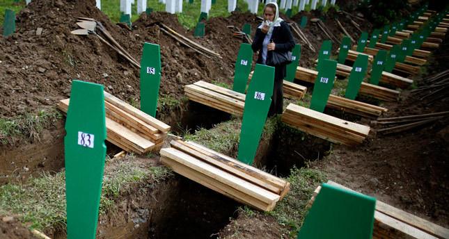 Bosnians bury 175 more on 19th anniversary of Srebrenica genocide