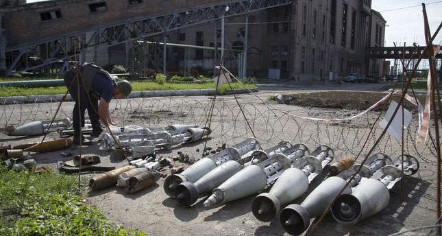 Rebel missile attack possibly kills 30 Ukrainian troops