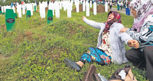 Bosnia grieves on the anniversary of the Srebrenica massacre