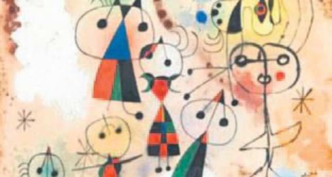 Joan Miro's works to go on display in Istanbul