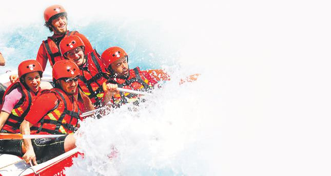 Mark your holiday with adventure sports in Turkey