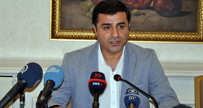 HDP's Demirtaş urges CHP leader not to incite violence