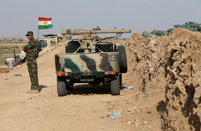 Kurdish forces take over two major oil fields in Iraq
