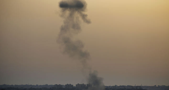 Israel strikes Gaza using banned weapons