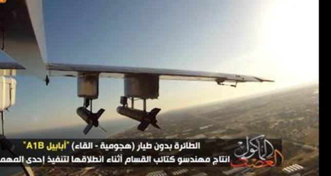 Hamas announces 'manufacture' of three aerial drones
