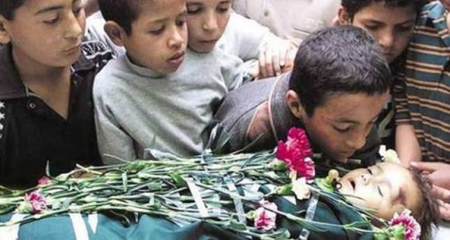 Palestinian children victims of Israeli assault on Gaza