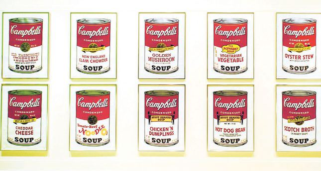Warhol soup cans seen in personal light at Turkısh Show