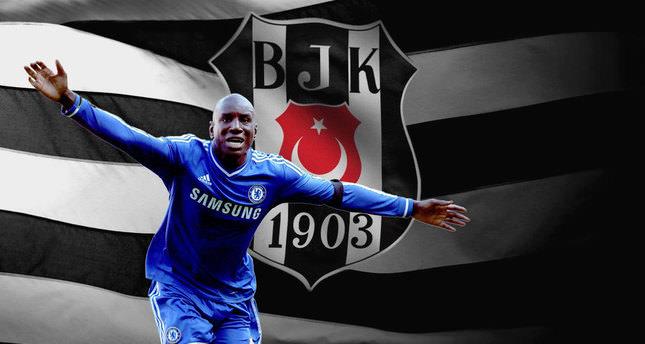 Chelsea star Demba Ba in Istanbul for Beşiktaş