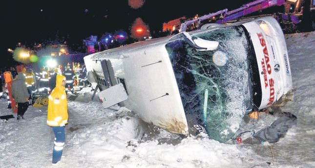 Traffic accidents in Turkey decline: stats