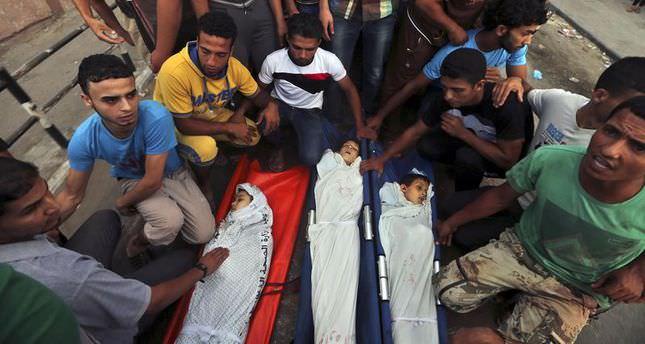 Netanyahu accused of killing Gaza children