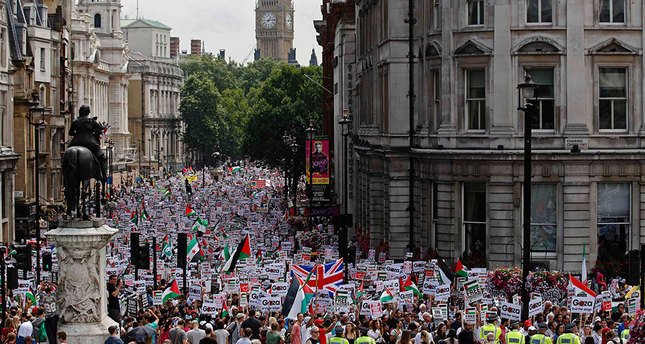 Europeans do not see eye to eye with their governments on Gaza