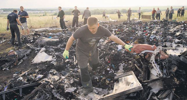Ukraine: Rebels have taken all bodies from plane crash