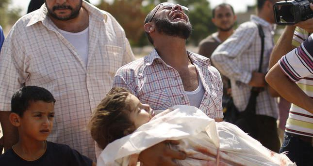 Death toll in Gaza hits 509 after Israeli shelling of houses