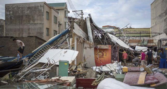 17 killed by Typhoon Rammasun in China