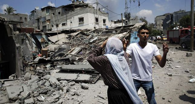 1100 homes destroyed by Israel in Gaza since July 7