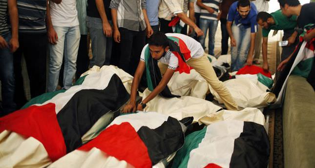 Gaza death toll jumps to 570