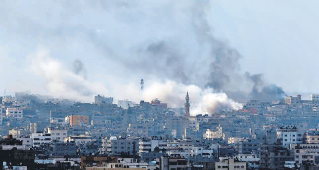 Israel using a variety of weapons in Gaza assault