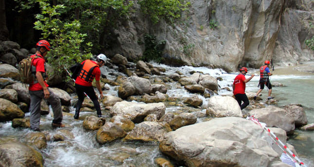 Two killed in Saklıkent canyon flood