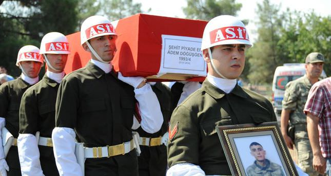 Number of Turkish soldiers killed in clash rises to three