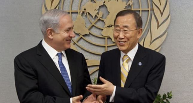 Rather than Palestine UN sends condolences to Israel