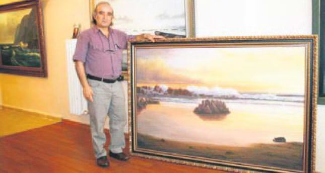 Turkish painter's works revealed 13 years later