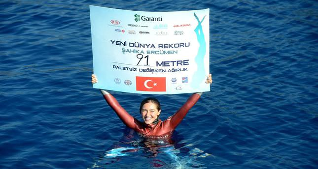 New world record dedicated to the people of Gaza by Turkish athlete