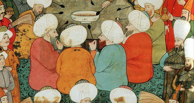 Ramadan, a welcome guest at the Ottoman Palace